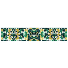 Colorful Tribal Abstract Pattern Flano Scarf (small)