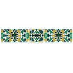 Colorful Tribal Abstract Pattern Flano Scarf (large)