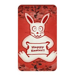 Cute Bunny Happy Easter Drawing Illustration Design Memory Card Reader (rectangular)