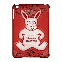 Cute Bunny Happy Easter Drawing Illustration Design Apple Ipad Mini Hardshell Case (compatible With Smart Cover)