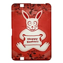 Cute Bunny Happy Easter Drawing Illustration Design Kindle Fire Hd 8 9  Hardshell Case