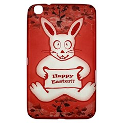Cute Bunny Happy Easter Drawing Illustration Design Samsung Galaxy Tab 3 (8 ) T3100 Hardshell Case