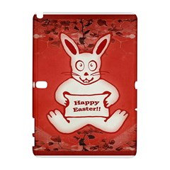 Cute Bunny Happy Easter Drawing Illustration Design Samsung Galaxy Note 10 1 (p600) Hardshell Case