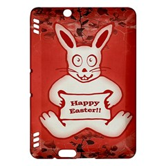 Cute Bunny Happy Easter Drawing Illustration Design Kindle Fire HDX Hardshell Case