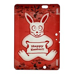 Cute Bunny Happy Easter Drawing Illustration Design Kindle Fire Hdx 8 9  Hardshell Case