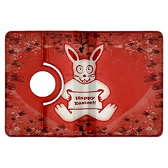Cute Bunny Happy Easter Drawing Illustration Design Kindle Fire HDX Flip 360 Case