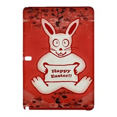 Cute Bunny Happy Easter Drawing Illustration Design Samsung Galaxy Tab Pro 10.1 Hardshell Case