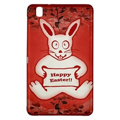 Cute Bunny Happy Easter Drawing Illustration Design Samsung Galaxy Tab Pro 8.4 Hardshell Case