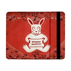 Cute Bunny Happy Easter Drawing Illustration Design Samsung Galaxy Tab Pro 8 4  Flip Case