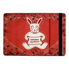 Cute Bunny Happy Easter Drawing Illustration Design Samsung Galaxy Tab Pro 10 1  Flip Case