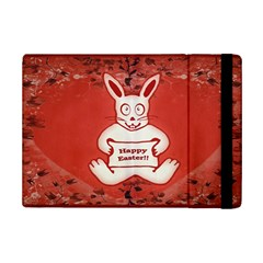 Cute Bunny Happy Easter Drawing Illustration Design Apple Ipad Mini 2 Flip Case