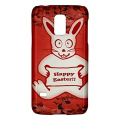 Cute Bunny Happy Easter Drawing Illustration Design Samsung Galaxy S5 Mini Hardshell Case