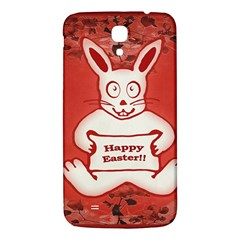 Cute Bunny Happy Easter Drawing Illustration Design Samsung Galaxy Mega I9200 Hardshell Back Case