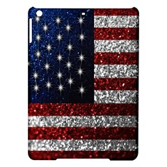 American Flag in Glitter Photograph Apple iPad Air Hardshell Case