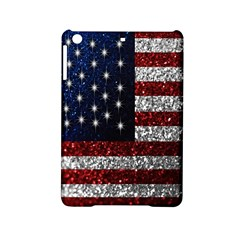 American Flag in Glitter Photograph Apple iPad Mini 2 Hardshell Case