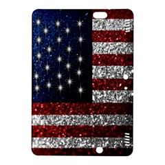 American Flag in Glitter Photograph Kindle Fire HDX 8.9  Hardshell Case