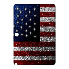 American Flag In Glitter Photograph Samsung Galaxy Tab Pro 10 1 Hardshell Case