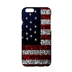 American Flag in Glitter Photograph Apple iPhone 6 Hardshell Case