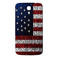 American Flag In Glitter Photograph Samsung Galaxy Mega I9200 Hardshell Back Case
