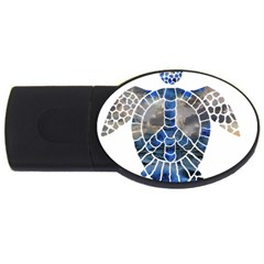 Peace Turtle 2gb Usb Flash Drive (oval)