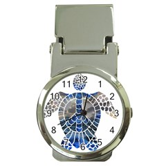 Peace Turtle Money Clip With Watch