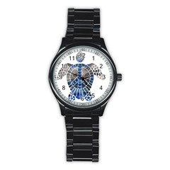 Peace Turtle Sport Metal Watch (black)