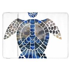 Peace Turtle Samsung Galaxy Tab 8.9  P7300 Flip Case