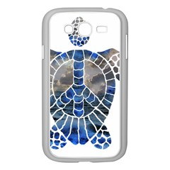 Peace Turtle Samsung Galaxy Grand DUOS I9082 Case (White)