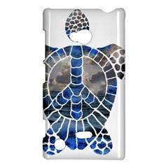 Peace Turtle Nokia Lumia 720 Hardshell Case