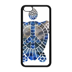 Peace Turtle Apple iPhone 5C Seamless Case (Black)