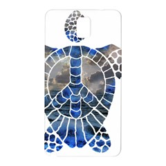 Peace Turtle Samsung Galaxy Note 3 N9005 Hardshell Back Case