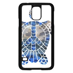 Peace Turtle Samsung Galaxy S5 Case (Black)