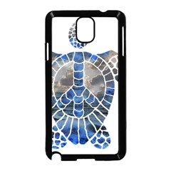 Peace Turtle Samsung Galaxy Note 3 Neo Hardshell Case (black)