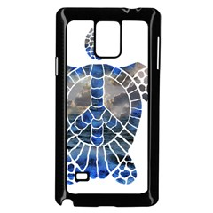 Peace Turtle Samsung Galaxy Note 4 Case (Black)