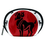 Aries Horoscope Zodiac Sign Birthday Accessory Pouch (Medium) Front