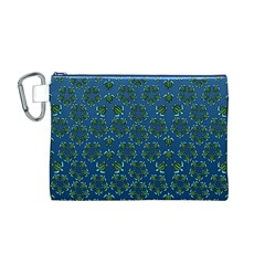 Cebu Turtles  Canvas Cosmetic Bag (Medium)