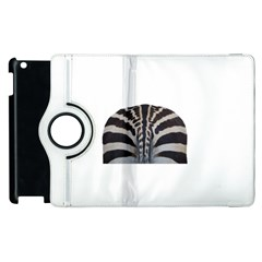 Zebra Butt Apple Ipad 2 Flip 360 Case