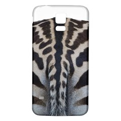 Zebra Butt Samsung Galaxy S5 Back Case (White)