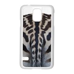 Zebra Butt Samsung Galaxy S5 Case (White)