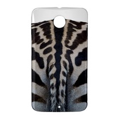 Zebra Butt Google Nexus 6 Case (White)