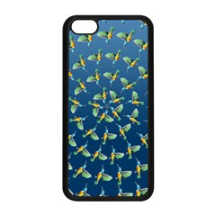 Sunbirds Pattern  Apple iPhone 5C Seamless Case (Black)