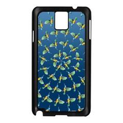 Sunbirds Pattern  Samsung Galaxy Note 3 N9005 Case (Black)