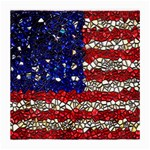 American Flag Mosaic Glasses Cloth (Medium, Two Sided) Front