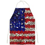 American Flag Mosaic Apron Front