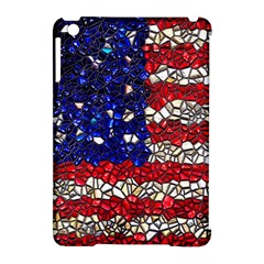 American Flag Mosaic Apple Ipad Mini Hardshell Case (compatible With Smart Cover)