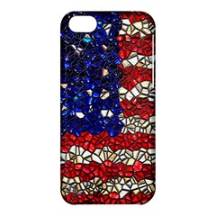 American Flag Mosaic Apple Iphone 5c Hardshell Case