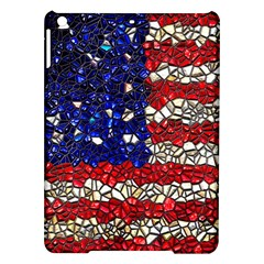 American Flag Mosaic Apple iPad Air Hardshell Case