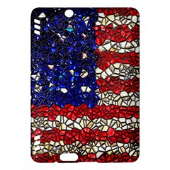 American Flag Mosaic Kindle Fire HDX Hardshell Case
