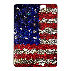 American Flag Mosaic Kindle Fire HDX 8.9  Hardshell Case