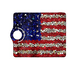 American Flag Mosaic Kindle Fire HDX 8.9  Flip 360 Case